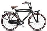 71,12 cm Nostalgia per bici bicicletta olandese da uomo in alluminio Vogue Elite più 3 marce Roller brake colore nero opaco RH: 57 cm