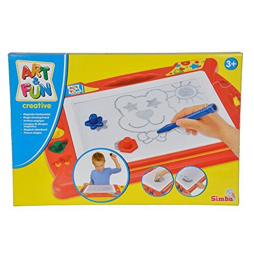 Simba 106334024 - Art & Fun Magische Zeichentafel