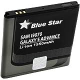 Avizar - Batterie Lithium-Ion 1550mAh Compatible EB535151VU pour Samsung Galaxy S Advance - Noir