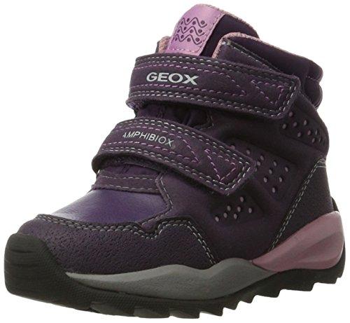 Geox Mädchen J Orizont B Girl Abx F Schneestiefel, Violett (Violet), 28 EU