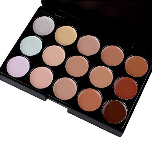 Butterme anticernes professionnelle Palette Camouflage couverture maquillage Kit Palette beauté avec 15 couleurs mode