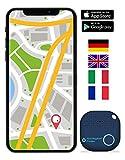 musegear app Key Finder -Version 2 localisateur et traqueur sonore pour retrouver clés -Volume 3 Fois élevé -Couleur Bleu - Smartphone Bluetooth GPS couplage