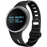 Huiheng Fitness Tracker E07 Imperméable Activité Santé Tracker podomètre veille Bluetooth Monitor Sync montre Smart Watch Pour Android et IOS Phone