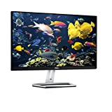 DELL S2318H 58,42 cm (23 Zoll) Monitor (VGA, HDMI, LED, 6ms Reaktionszeit) silber/schwar