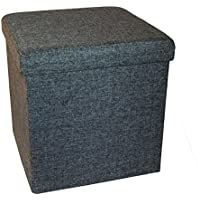 Preisvergleich für Seville Classics 30247, Faltbarer Sitzhocker, 40 x 40 x 40cm