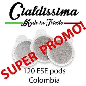 Cialdissima 120 ESE Pods - Colombia taste