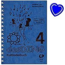 Das Ding 4 Kultliederbuch - Libro de canciones para canto y guitarra (más de 400