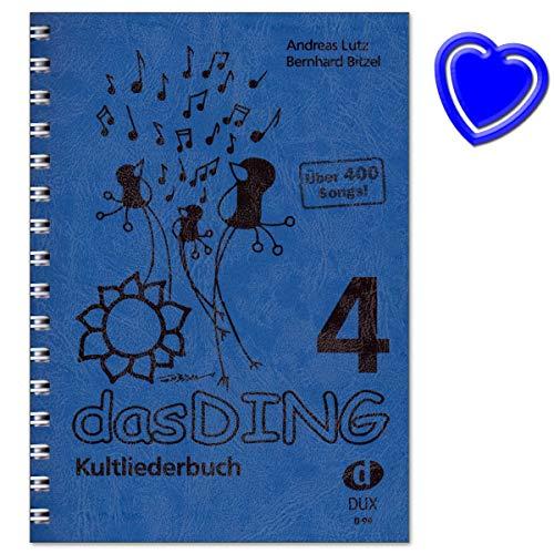 Das Ding 4 Kultliederbuch - Libro de canciones para canto y guitarra...
