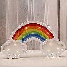 yue-led luz nocturna unicornio luces de la noche luces de ánimo condecoraciones cámara niños