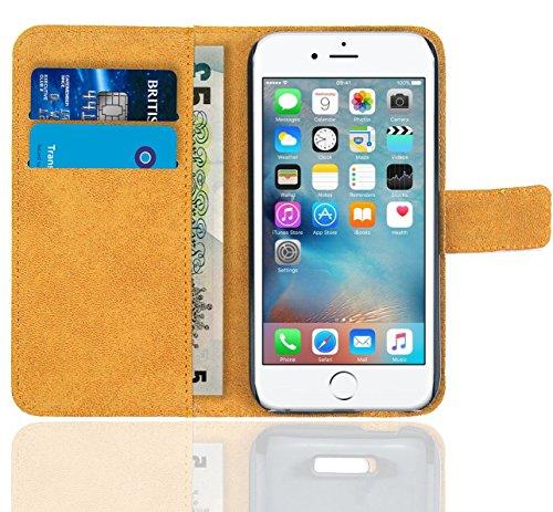 iPhone 6 6s Housse Coque, FoneExpert Etui Housse Coque en Cuir Portefeuille Wallet Case Cover pour iPhone 6 6s Color 11