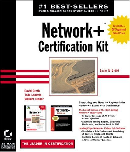 Network+ Certification Kit: Network+ Study Guide and Network+ Virtual Lab por David Groth