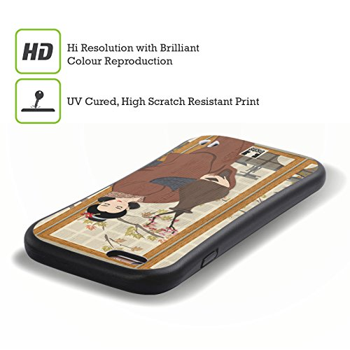 Head Case Designs Kiyoshi Geisha Étui Coque Hybride pour Apple iPhone 6 / 6s Hana