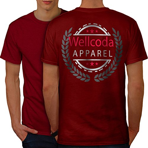 wellcoda Kleider Männer L Ringer T-Shirt