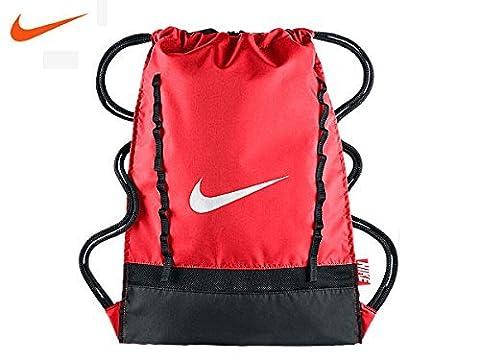 Nike Brasilia 7 Gymsack Sporttaschen, Bright Crimson/Black/White, 750 x 40 x 33 cm, 70 Liter