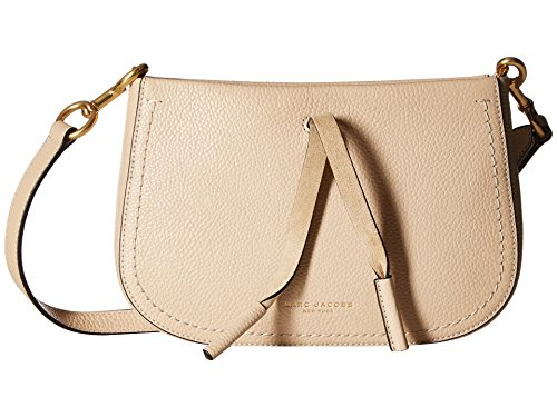 Marc Jacobs Damen Maverick Umhängetasche, (Antique Beige), 4x14x24 cm