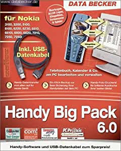 Handy Big Pack 6.0 für Nokia inkl. Datenkabel