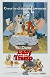 LADY AND THE TRAMP – US Imported Movie Wall Poster Print - 30CM X 43CM Disney