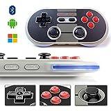 N30 PRO Controlador de juegos, YIKESHU 8 SNES NES Controlador inalámbrico Bluetooth Controlador...