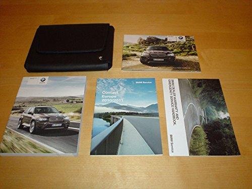 bmw-x6-x5-series-with-idrive-owners-handbook-c-w-wallet-2008-2013-x5m-x6m-x5-xdrive35i-xdrive50i-xdr