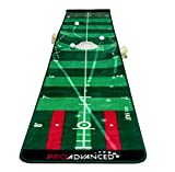 ProAdvanced Pro Infinity - Alfombra de práctica para Golf, Color Verde