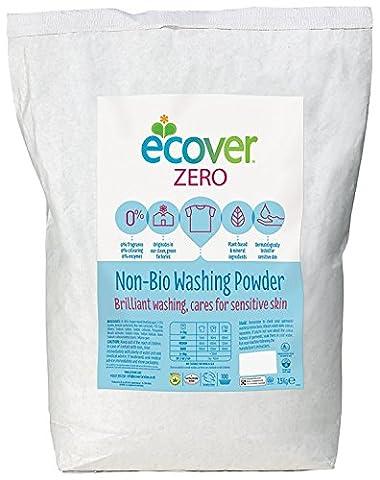 Ecover Zero non Bio Lessive en poudre 7,5kg
