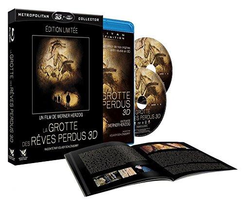 La grotte des rêves perdus - Edition limitée - DVD + Blu-ray 2D + Blu-ray 3D Active + 1 livret de 36 pages [Blu-ray] [Combo Blu-ray 3D + DVD] [Combo Blu-ray 3D + DVD]