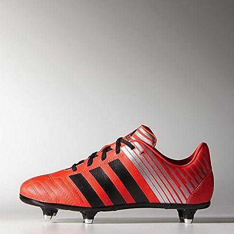 adidas - Zapatillas de rugby para niño