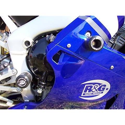 R & G Superior/frontal Crash Protectores para adaptarse a Yamaha YZF-R1(2000–2001)