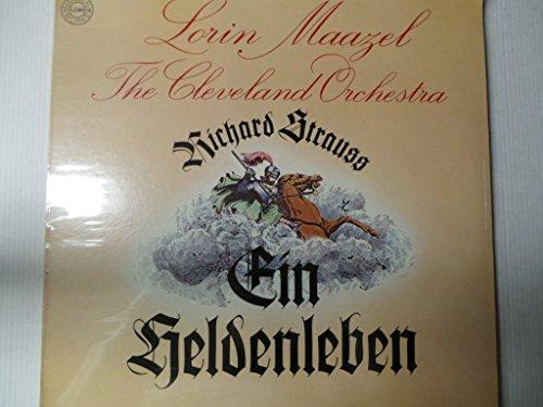 STRAUSS Ein Heldenleben, op.40--MAAZEL Lorin (dir); The Cleveland Orchestra-COLUMBIA-COLU M 34566