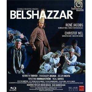Handel Belshazzar Tarver Joshua Mehtaakademie Fur Alte Musik Berlinrene Jacobs Blu-ray from Harmonia Mundi