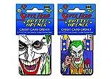 Joker Vote Me Stainless Steel Super Hero Credit Card Bottle Opener by Adventure Trading