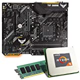 AMD Ryzen 5 2600X / ASUS TUF B450-PLUS Gaming Mainboard Bundle / 8GB | CSL PC Aufrüstkit | AMD Ryzen 5 2600X 6X 3600 MHz, 8GB DDR4-RAM, GigLAN, 7.1 Sound, USB 3.1 | Aufrüstset | PC Tuning Kit