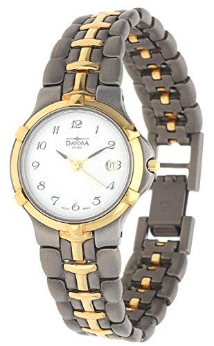 Davosa Swiss Damen Armbanduhr grau 16833812-27611