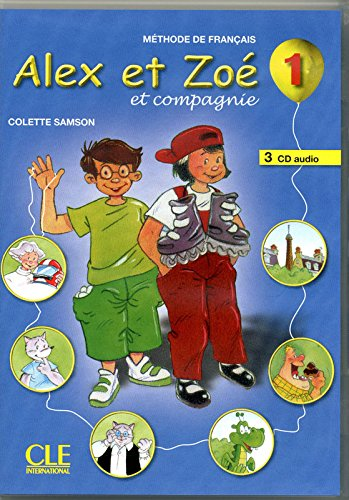 Alex et Zoé - Niveau 1 - CD audio collectif