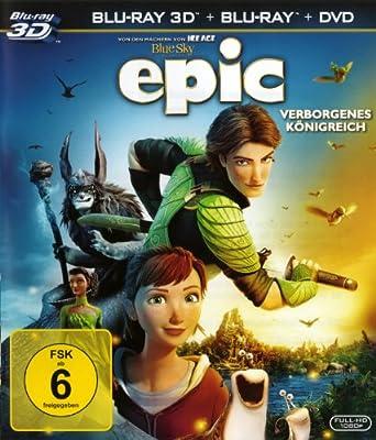 Epic - Verborgenes Königreich Blu-ray 3D + Blu-ray + DVD (3 DISCS)
