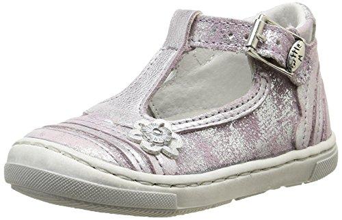 Little Mary Vedette, Chaussures Premiers pas bébé fille Violet (Shine Lilas)