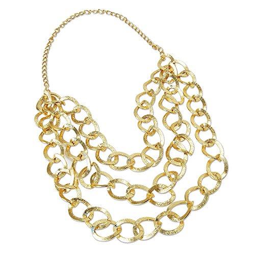 1Herr Bling Gold Kette, One Size (4. Juli Kostüm Ideen)