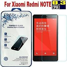 Prevoa ® 丨 Protector de vidrio templado de vidrio templado para Xiaomi Hongmi Note Redmi Rot Mi Red Rice 5.5 pulgadas prima Protector de pantalla Protector de pantalla ultra duro