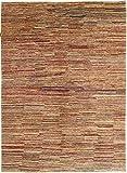 Nain Trading Ziegler Gabbeh 238x173 Orientteppich Teppich Beige/Braun Handgeknüpft Afghanistan Design Teppich Modern