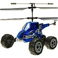 Jiayuane Flying Car Helicopter, Air Flight / Land Travel / Lanzamiento de misiles, vehículos voladores Great Gift para sus hijos