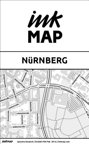 Inkmap Nürnberg - Karten für eReader, Sehenswürdigkeiten, Kultur, Ausgehen (German)