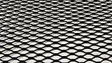 Alu Renngitter, Racegitter, Streckgitter, 100x33cm schwarz