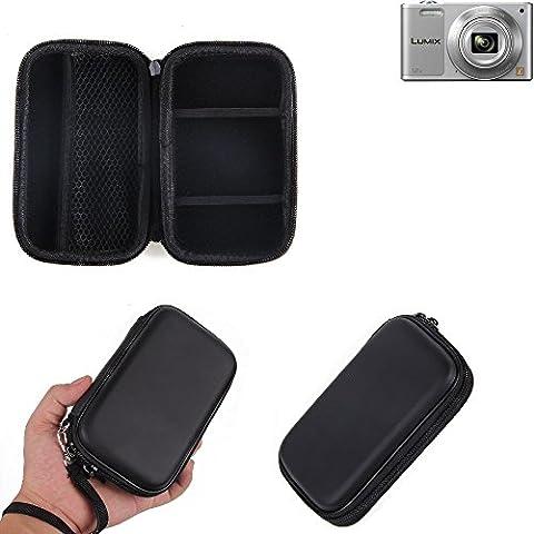 Hard Case, mallette de transport, housse de protection pour appareil photo Panasonic Lumix DMC-SZ10, avec espace pour des cages de mémoire, batterie de rechange, chargeur cage, etc.   sacoche choc poids léger sac de protection preuve -