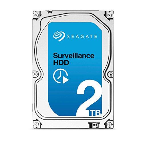 Seagate Surveillance HDD – 2 TB – interne Festplatte, ST2000VX003 (3,5 Zoll), 64 MB Cache, SATA III für den Überwachungsbereich
