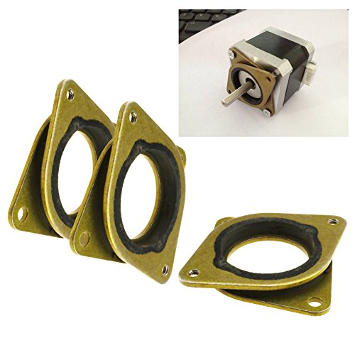 3pcs Stoßdämpfer Stepper Schwingungsdämpfer für Nema17 3D Drucker DIY Zubehör - Dämpfer Motor
