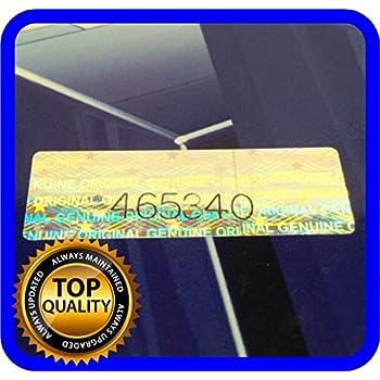 haggiy Siegel-Etiketten Sicherheitsetikett 40x20 mm Schutz vor Manipulation