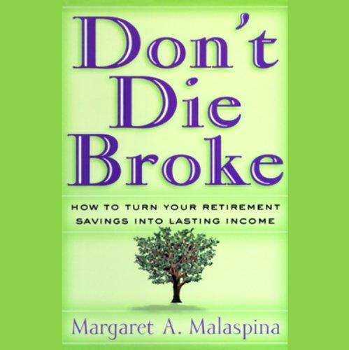 Don't Die Broke  Audiolibri