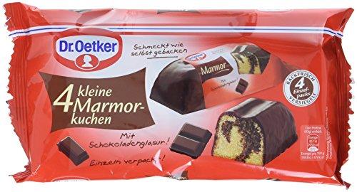 Dr. Oetker fertiger kleiner Marmorkuchen, 5er Pack (5 x 172 g)