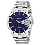 Redux Analogue Blue Round Dial Men's Watch-Rws0048