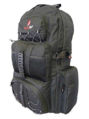 Rucksack Womens Backpacker (ROAMLITE Mittelgroßer Camping Backpacker Rucksack – 50 bis 55 L Liter Volumen - Geeignet für Backpacking, Zelten, Festival, Reise, Outdoor - Leichter Wanderrucksack RL01KK)
